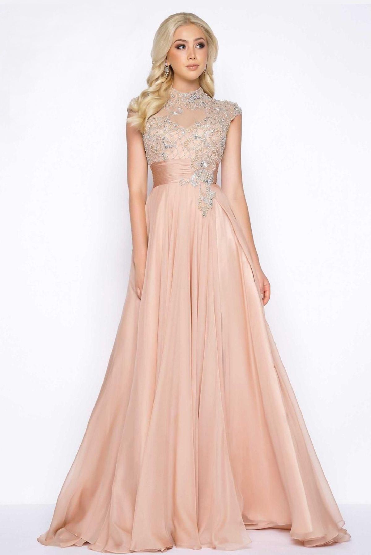 10010 Платье с кружевной верхней частью украшено камнями, спина прозрачная, юбка длинная и пышная