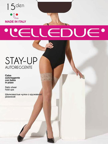 Чулки Stay-Up 15 Autoreggente Elledue