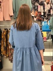 D Платье L&N 7894 отрезное буквы 3/4 (В20)