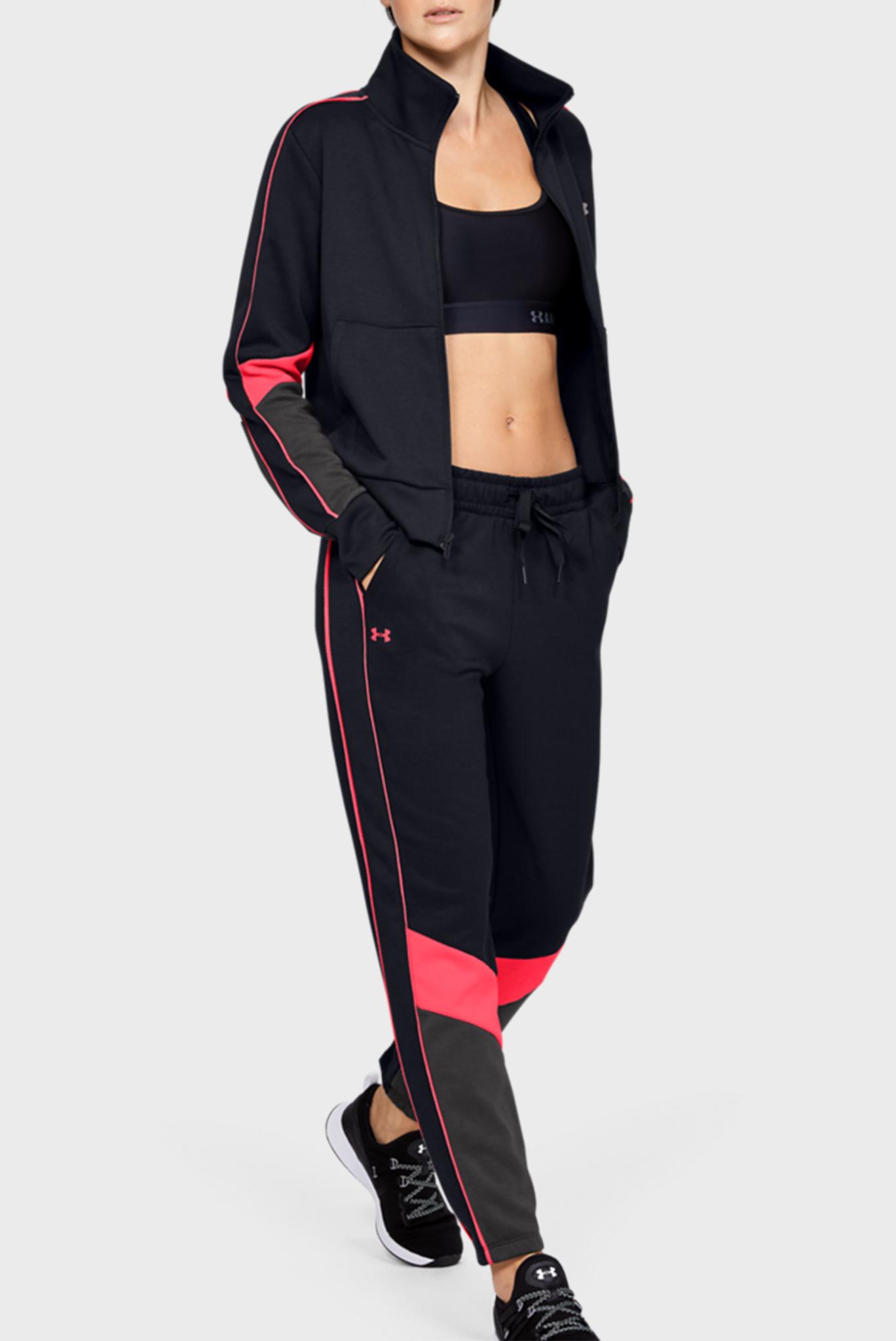 Женские черные спортивные брюки Double Knit Pant Under Armour