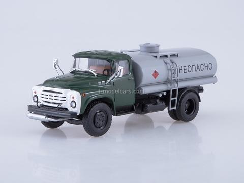 ZIL-130 TSV-6 Gasoline tanker truck green-gray 1:43 AutoHistory