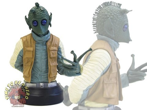 Gentle Giant Greedo Bust