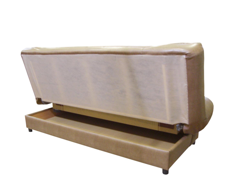 Диван-книжка Скали 3-местный, обивка кожзам, механизм клик-клак + ящик для белья