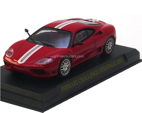 Ferrari 360 Challenge Stradale 2003 red 1:43 Eaglemoss Ferrari Collection #42