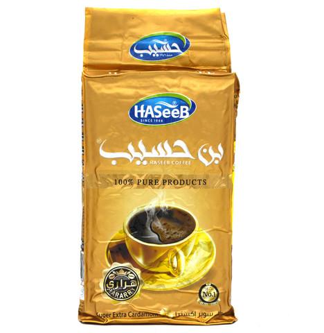Арабский кофе Super Extra Cardamom, Haseeb, 500 г