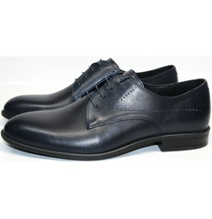 Синие туфли мужские Икос 3360-4.