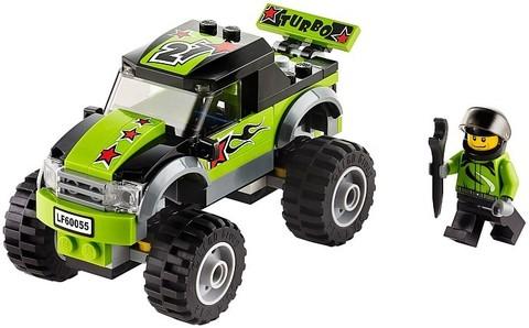 LEGO City: Монстрогрузовик 60055 — Monster truck — Лего Сити Город