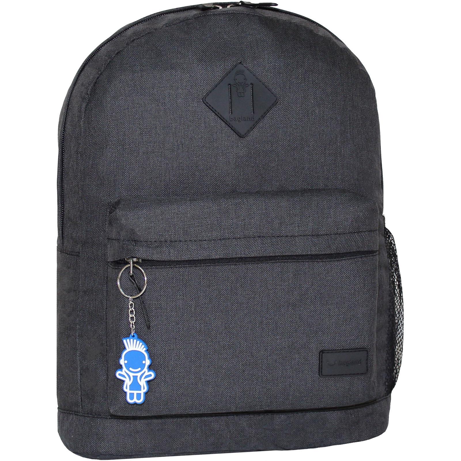 Городские рюкзаки Рюкзак Bagland Молодежный меланж 17 л. Чёрный (00533692) IMG_8784.JPG