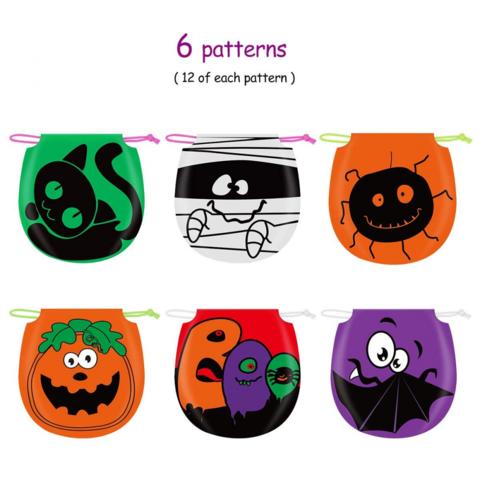 Unomor Halloween Candy Treat Bags