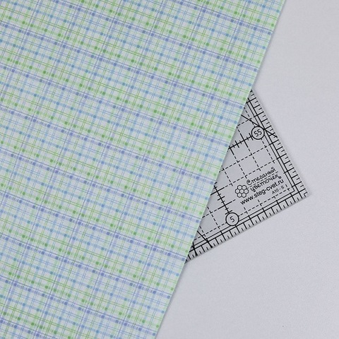Ткань для пэчворка, хлопок 100% (арт. BE0702)