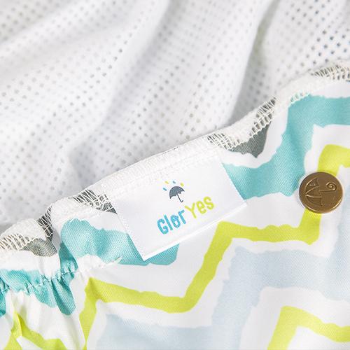 Многоразовый подгузник GlorYes! Волна для плавания 3-18 кг