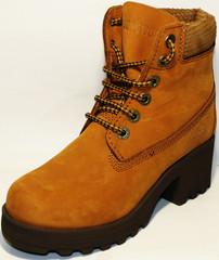 Зимние ботинки женские на меху