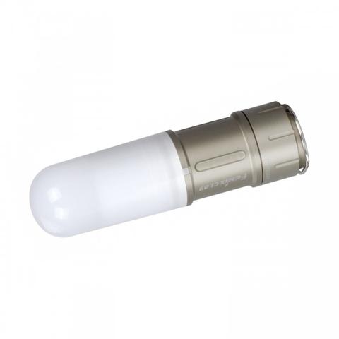 Фонарь светодиодный Fenix CL09 серый, 200 лм, аккумулятор
