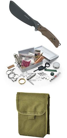 Мачете с набором выживания FOX Knives модель 0107153