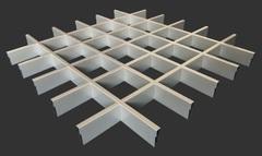 ЛЮМСВЕТ Соединительный элемент Грильято алюминий серебристый