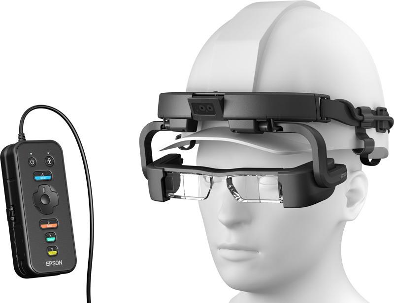 Очки дополненной реальности Epson Moverio Pro BT-2200