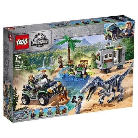 LEGO Jurassic World: Поединок с бариониксом Охота за сокровищами 75935 — Baryonyx Face-Off: The Treasure Hunt — Лего Мир Юрского периода