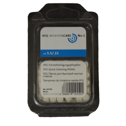Патч-пулька фетровый VFG кал. 5,5 мм (80 шт)
