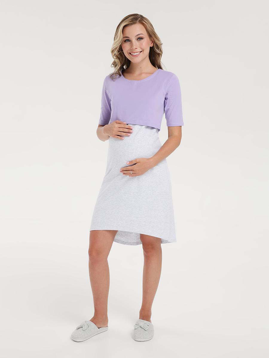 Ночная сорочка для будущих и кормящих мам - Фото 3