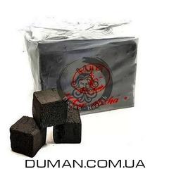 Натуральный кокосовый уголь Yahya (Яхуа) для кальяна | 0,5кг 36куб 25*25мм