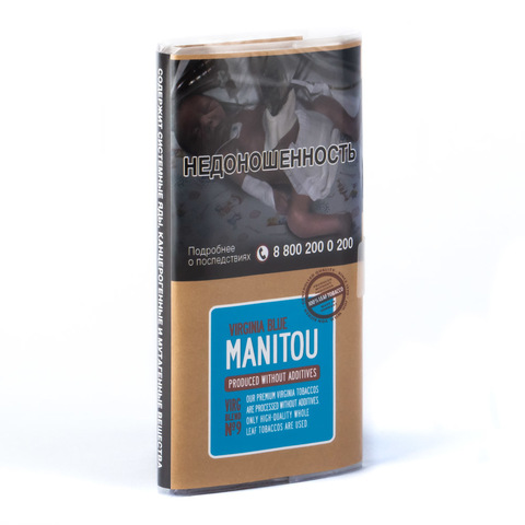 Табак сигаретный Manitou Virginia Blue n9 30 гр