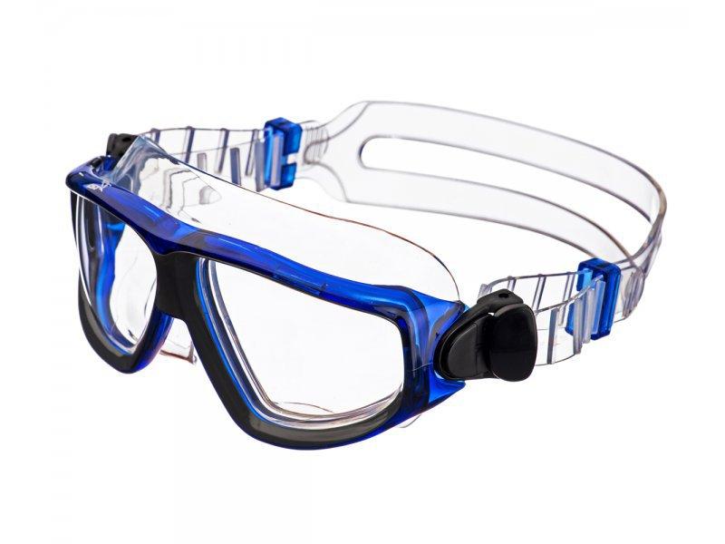 Очки-полумаска IST argo, прозрачный силикон, прозрачные линзы