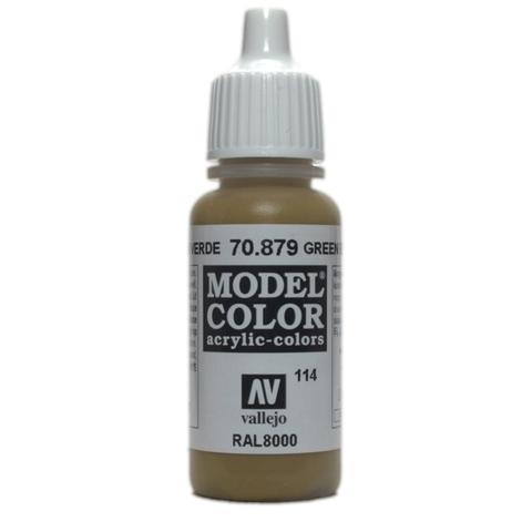 Model Color Green Brown 17 ml.