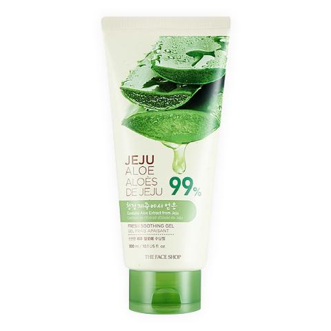 Гель THE FACE SHOP Jeju Aloe 99% Fresh Soothing Gel Tube 300ml