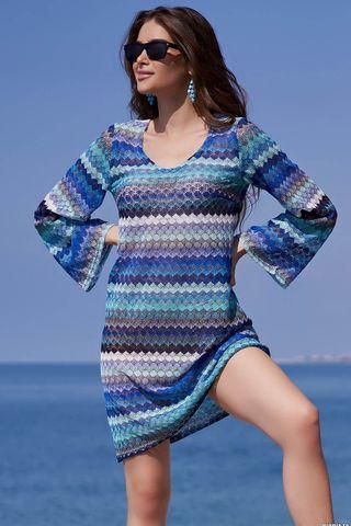 Туника Missoni 8240 голубой Mia-Amore