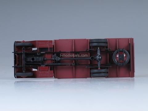 Ya-8 dark red 1:43 Nash Avtoprom