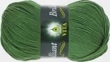 Пряжа Vita Brilliant зелень 5111