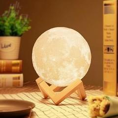 светильник луна шар 3D купить