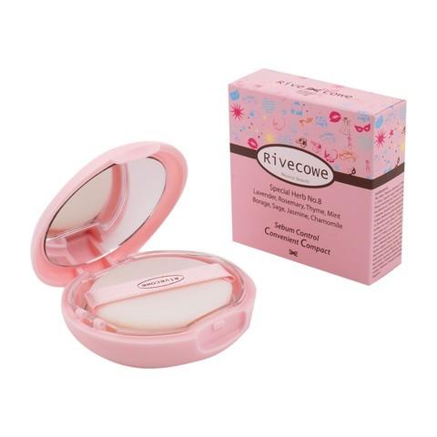 Пудра для лица RIVECOWE Beyond Beauty Sebum Control Convenient Compact 9 гр