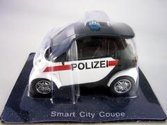 Smart City Coupe Austria 1:43 DeAgostini World's Police Car #45