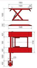 Подъемник ножничный BUTLER Solidus 32MB (Италия)