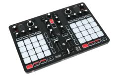 Полнофункциональный микшерный DJ пульт Hercules P32 DJ с двумя деками.