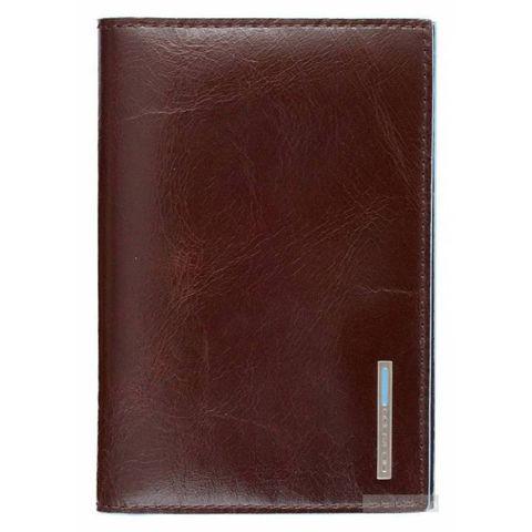 Обложка для паспорта Piquadro Blue Square (AS300B2/MO) коричневый кожа