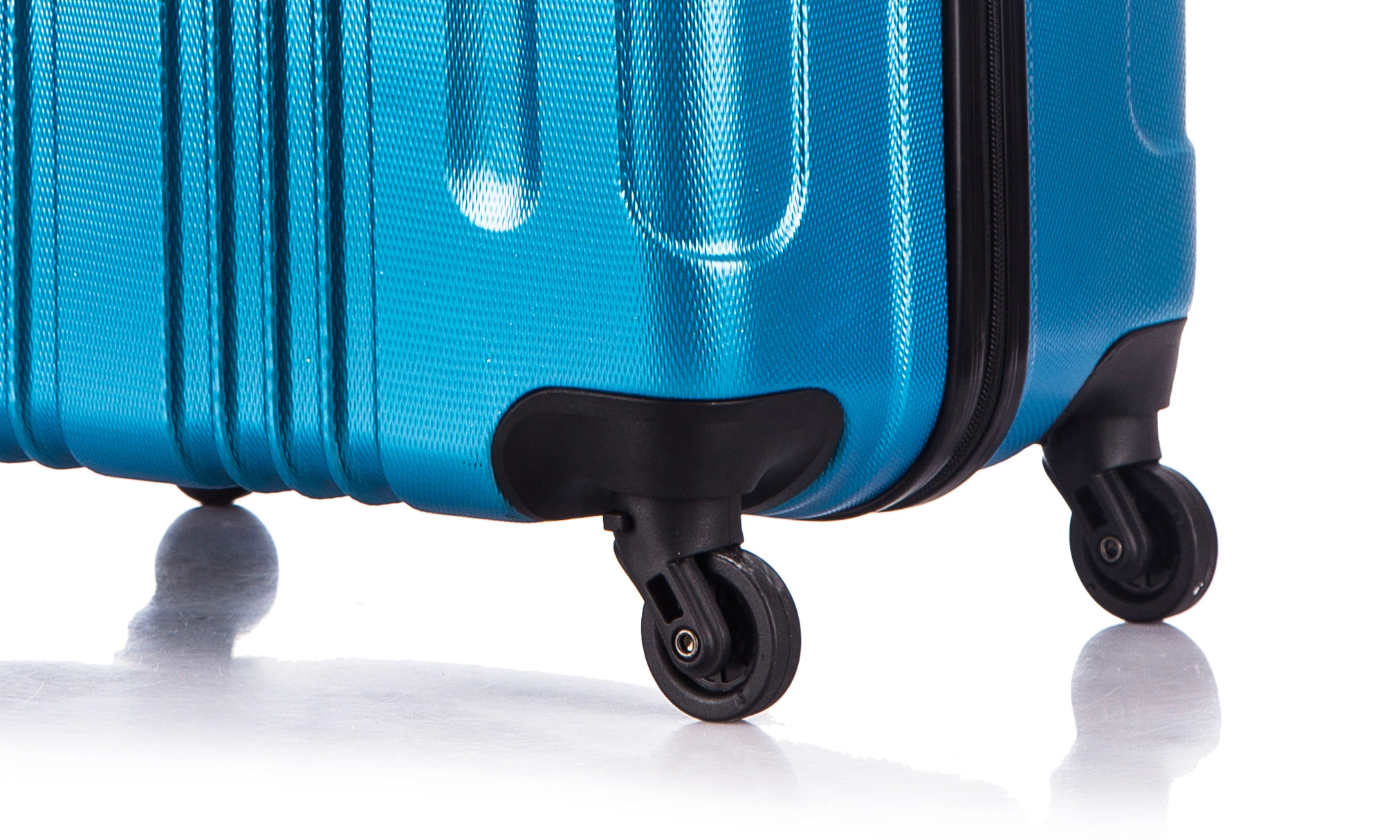 Чемодан со съемными колесами L'case Bangkok-22 Синий (M)