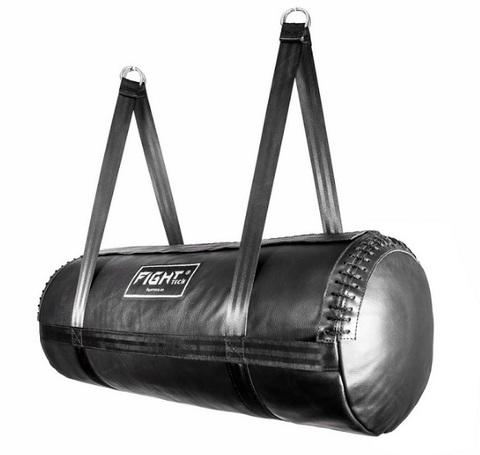 Горизонтальный боксерский мешок FIGHTtech SBL4, 90х38, 32кг, кожа