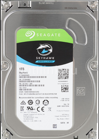 Жесткий диск Seagate SkyHawk [ST1000VX005] 1 ТБ