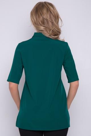<p>Хит сезона! Блузка для офиса. V-образный вырез горловины, рукав до локтя.</p>