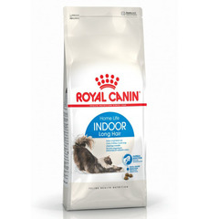 Royal Canin Indoor Long Hair  для домашних кошек длинношерстных пород