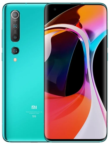 Смартфон Xiaomi Mi 10 8/256GB Green (Зеленый) Global Version
