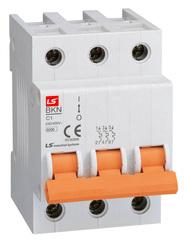 Автоматический выключатель BKN 3P C2A