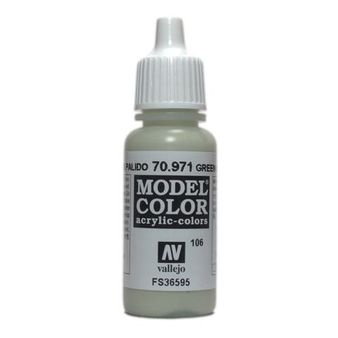 Model Color Green Pale Grey 17 ml.