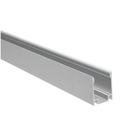 Алюминиевый профиль для монтажа гибкого неона 8х16 мм. 1 метр