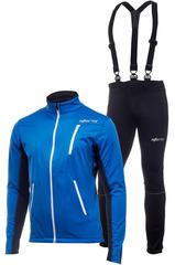 Утеплённый лыжный костюм Storm Speed Blue мужской