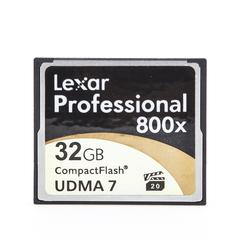 CompactFlash CF 32 Gb Lexar Professional 800x