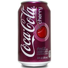 Газировка Coca-Cola Cherry