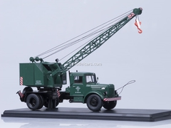 MAZ-200 Truck Crane K-51 green Start Scale Models (SSM) 1:43